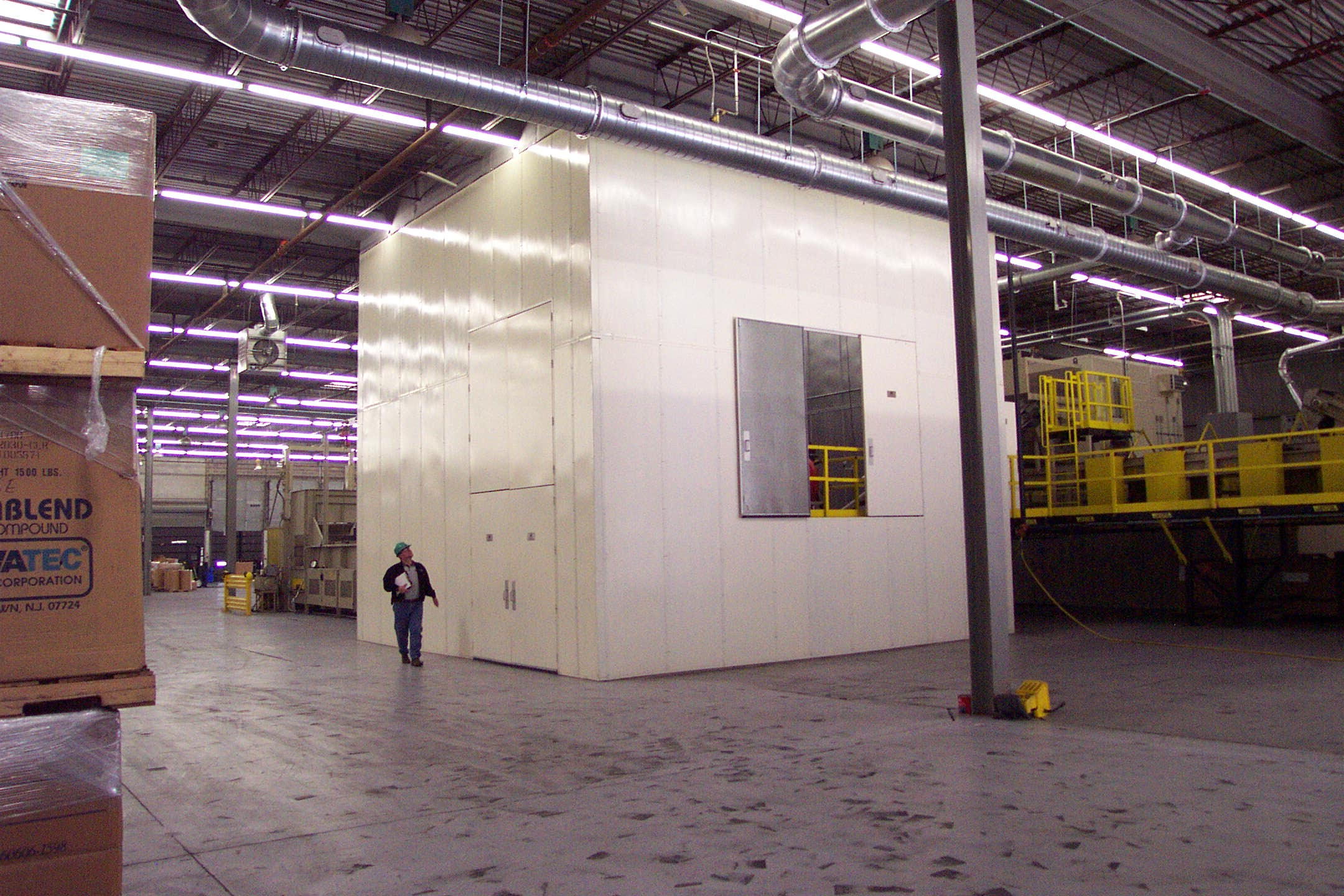 All Noise Control Acoustical Steel Wall Panels